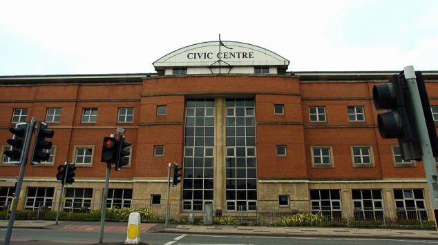 The Civic Centre in Stoke.