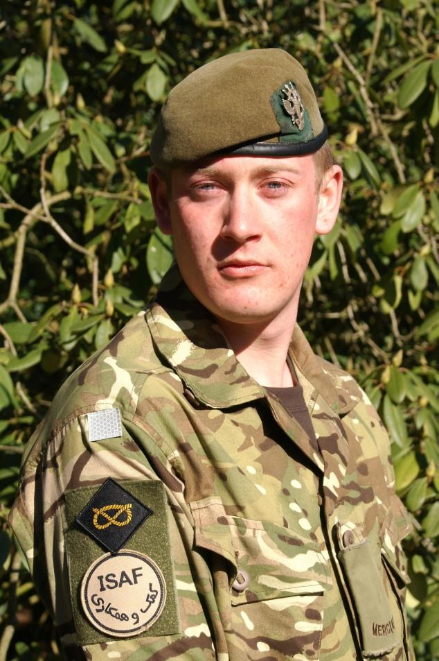 Private Gareth Bellingham.