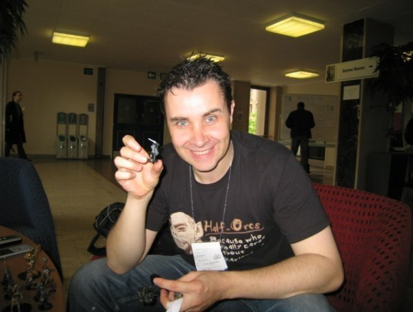 Yours truly at Gen Con UK in 2008.
