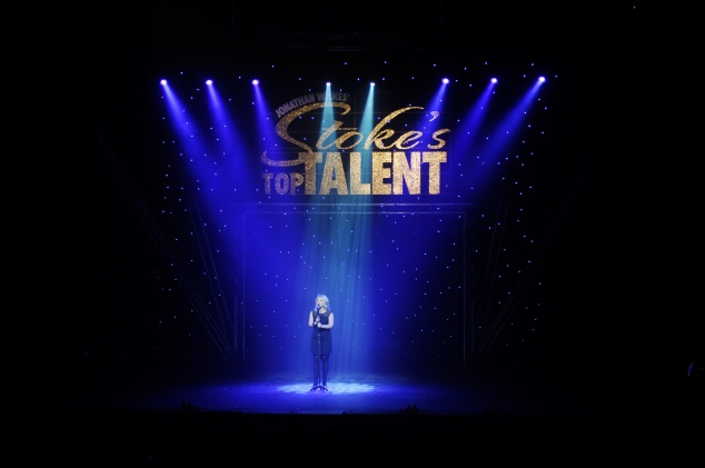 West End star Louise Dearman performs at the Stoke's Top Talent Final.