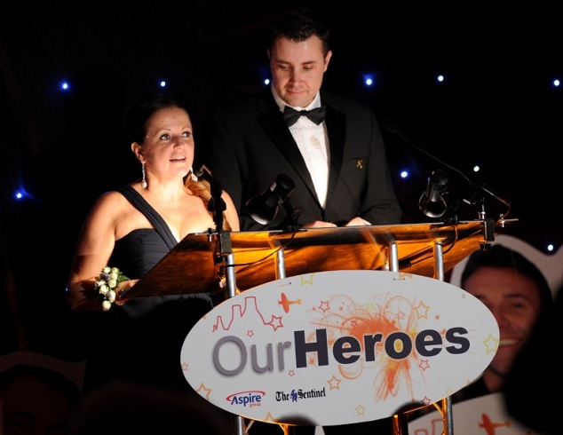 Our Heroes Awards night.