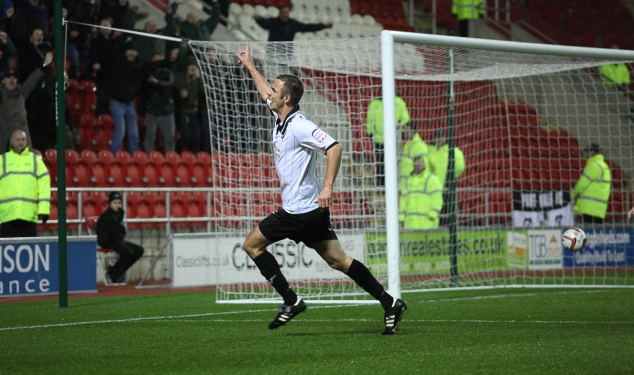 Port Vale striker Tom Pope is set for a big year in 2013.
