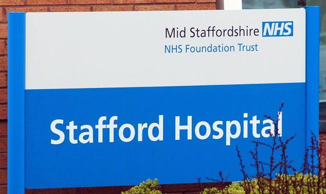 Stafford Hospital.