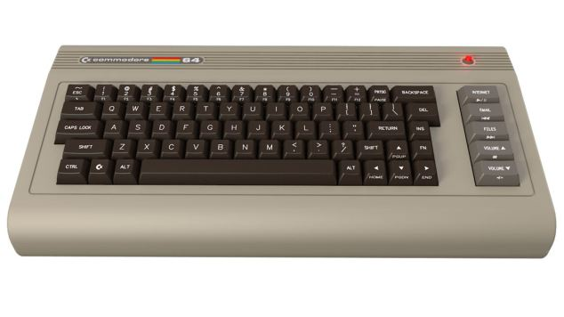 The keyboard from a Commmodore 64 (like what I had!).