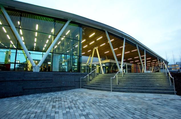 Hanley's new bus station.