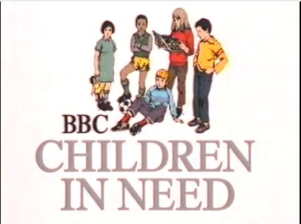 The Children In Need logo from 1980.