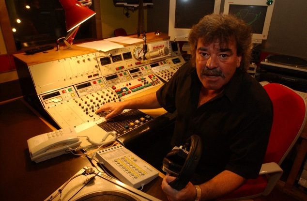 Signal Radio DJ, the late Mel Scholes.
