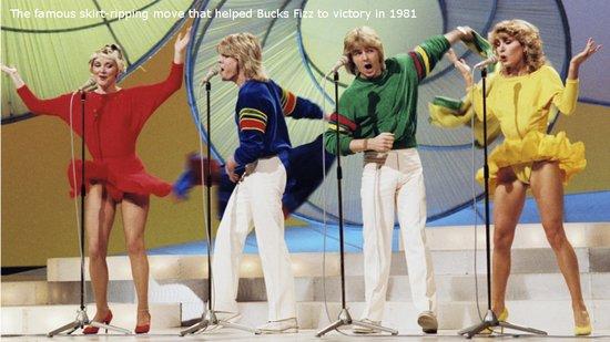 Bucks Fizz in 1981.