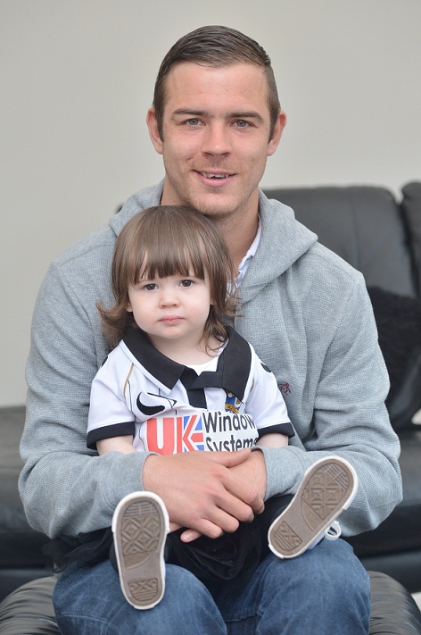 Tom Pope with his daughter Mollie Mae.