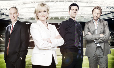 The BBC's Wimbledon team.