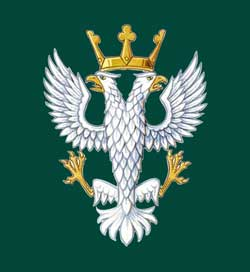 Mercian Regiment emblem.