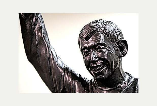 The Gordon Banks statue.