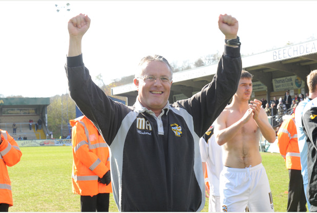Port Vale manager Micky Adams.
