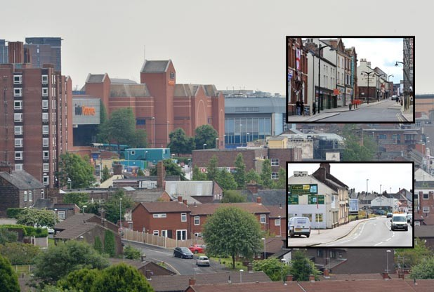 The Wyg report says the city council is right to focus on Hanley as the retail centre of the city, but suggests Burslem and Fenton are downgraded.