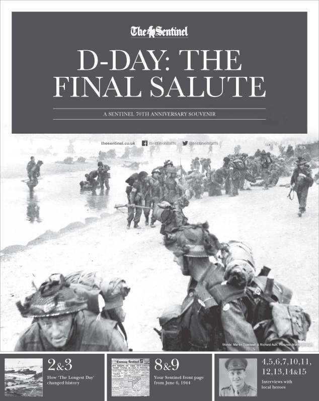 The Sentinel's D-Day 70th anniversary souvenir.